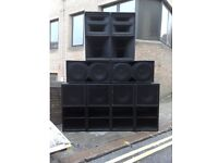 PA / Speakers Hire (Sound system hire, Audio hire, PA hire). Disco Equipment, Birmingham