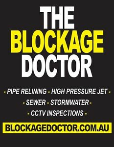 The Blockage Doctor! The leader in Blocked drain and internal relining Benowa Gold Coast City Preview