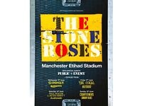 X2 Seated tickets for The Stone Roses 17th at Manchester Etihad