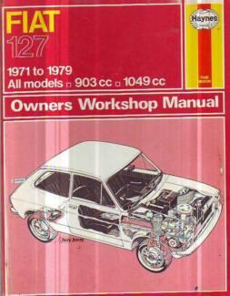 FIAT   127  WORKSHOP SERVICE REPAIR OWNER'S MANUAL******1979 Sefton Bankstown Area Preview