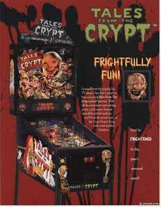 WTB: Tales from the Crypt or Frakenstein Pinball Machines