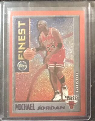 95-96 Finest Michael Jordan Chicago Bulls LAST DANCE