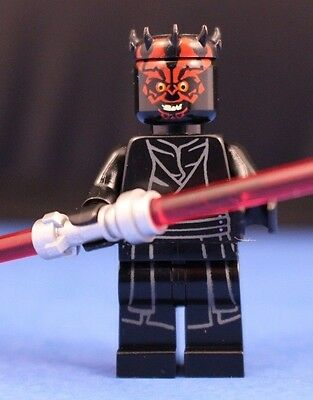 Lego  Star Wars  75169 Darth Maul  Minifigure   Dual Red Lightsaber 100  Lego