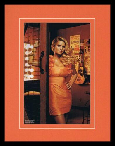 Jessica Simpson 2008 Framed 11x14 Photo Display