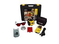 Stabila lax 200 laser level kit & Stabila level stand