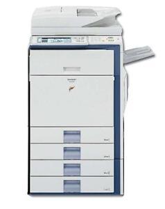 Sharp MX-3501N 3501 Color Photo copier Printer Scanner Copy Machine - Office Copiers Printers on SALE