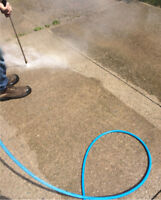 Heavy duty power washing