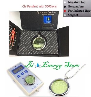 CHI Med BioDisc Pendant Quantum Science Scalar Energy stainless steel 5000 ions