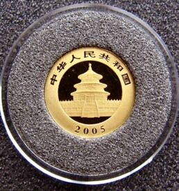 Very rare Chinese 20 Yuan Gold coin