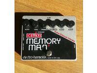 Electro Harmonix Deluxe Memory Man Analog Delay/Chorus/Vibrato