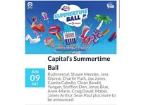 2x Capital Summertime Ball Pitch Standing Tickets