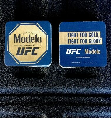 "Modelo UFC official Beer Coasters You Receive ""20""  Coasters. Free Shipping"