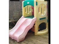 Little tikes twin activity slide