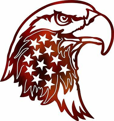 Dxf Cnc Dxf For Plasma Laser American Eagle Stars Cut Ready Vector Cnc File