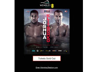 3 x Boxing Tickets! - Anthony Joshua Vs Wladimir Klitschko @ Wembley Stadium