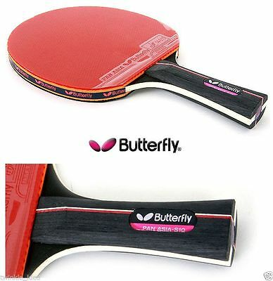 Butterfly PAN ASIA-S10 Table Tennis Paddles Racket Bat Shake Hand Grip Ping Pong