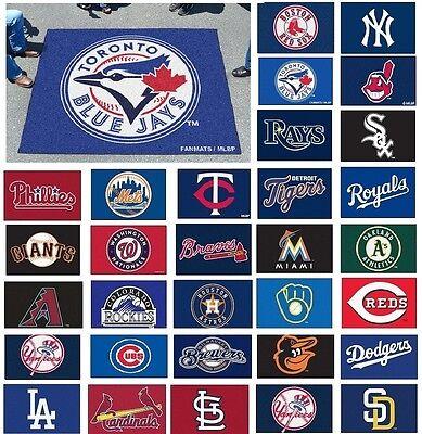 MLB Teams - 5' X 6' Tailgater Area Rug Floor Mat ()
