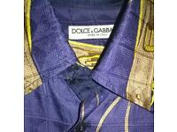 Dolice gabbana vintage shirt