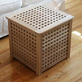 IKEA Hol Storage/Blanket Box, Bedside Table