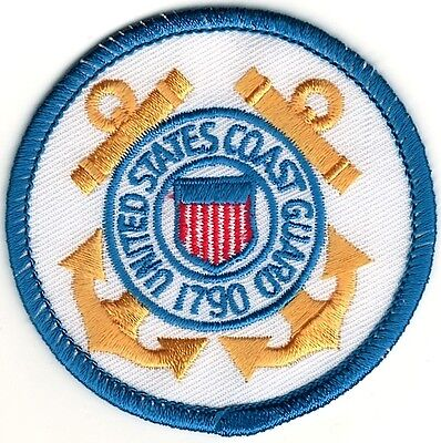 Military USCG United States US Coast Guard Seal Patch