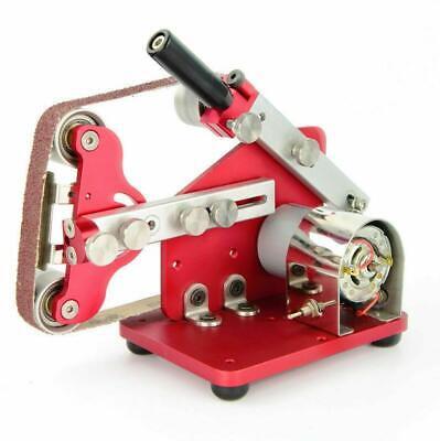 Mini Belt Machine Micro Table Polishing Machine Diy Sander Grinder 7000rpm