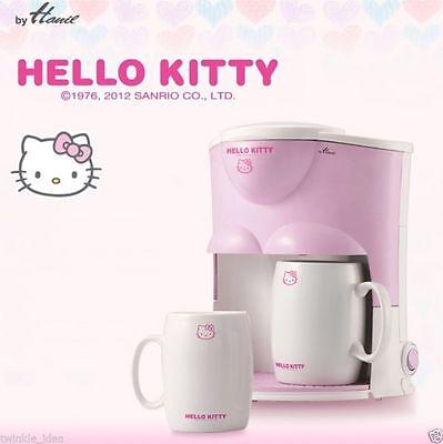 Hello Kitty Drip Coffee Maker Mini Espresso Machine 2 Cups Included Wedding Gift