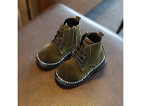 Boys-Infant-shoes with high top, size 24, excelent condition! just 11.99