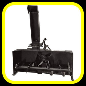 """3 point hitch SNOW BLOWERS, 50"""" - 80"""" sizes"""