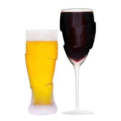 Ein Paar Betrunkene mattiert Bier & Weinglas Trinkgläser für Paare NEUHEIT