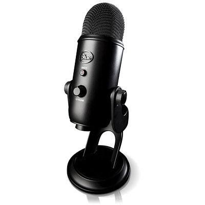 BLUE MICROPHONES Yeti Professional USB Desk Microphone  - BL