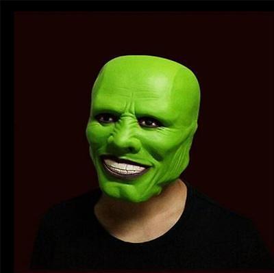 Die Grüne Maske Film (Grün Latexmaske Jim Carrey Die Maske Halloween film loki)