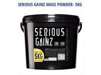 Serious Gainz whey protein powder,weights, Dumbbells,gym