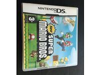 Hardly used Nintendo ds super mario bros