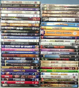 50 BRAND NEW DVD Movies Cheap Penny Discount Wholesale 99 Cent Stores Mixed Lot