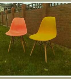 Pair of Retro style chairs