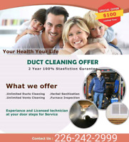 Duct Cleaning Special Promotion