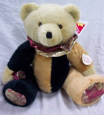 "Dakin ROSEMONT FULLY JOINTED TEDDY BEAR 18"" Plush STUFFED ANIMAL Toy"