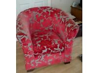 Dfs tub chairs x2 £80