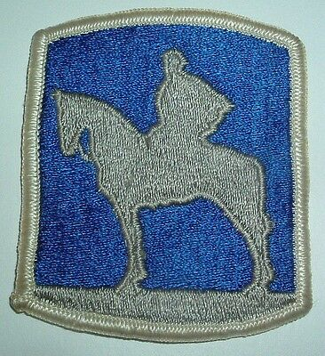 AMERICAN PATCHES-1970/1980 U.S ARMY 116th INFANTRY BRIGADE FULL COLOUR