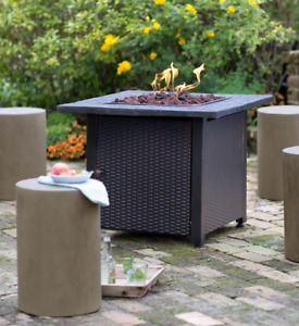 Gas Fire Table Outdoor (Tuscany)