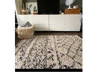 Bohemian Berber style rug