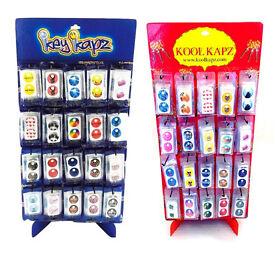Joblot 1000 x Key Kapz Keys Identifier Novelty Stickers wholesale clearance stock