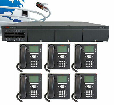 Avaya Ip Office - Ip500 V2 Digital Phone System Package W6 9508 Phones New