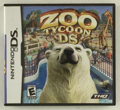 Nintendo DS Game ZOO TYCOON Rated Everyone Complete Game Directions & Case, used for sale  Shipping to South Africa