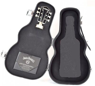 Jack Daniels Limited Edition Guitar Case Box With Stopper - New Without Bottle