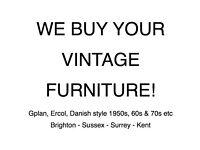 Vintage Furniture Wanted
