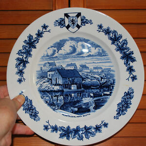 """Decorative Plate of """"Peggy's Cove"""""""