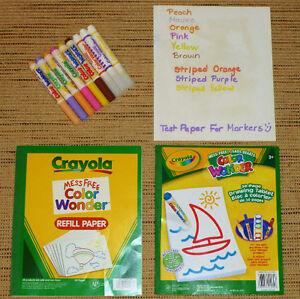 ✪ CRAYOLA - Colour Wonder Paper and Markers Oakville / Halton Region Toronto (GTA) image 3