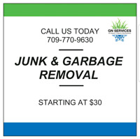Garbage Removal/Truck for Hire
