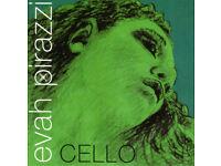 Evah Pirazzi 1/2-3/4 Size Cello Strings (Medium Tension)